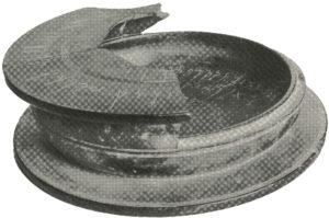 """Majumdar, N. G. 1937–38. """"The Bajaur Casket of the Reign of Menander."""" Epigraphia Indica 24: 1–8."""